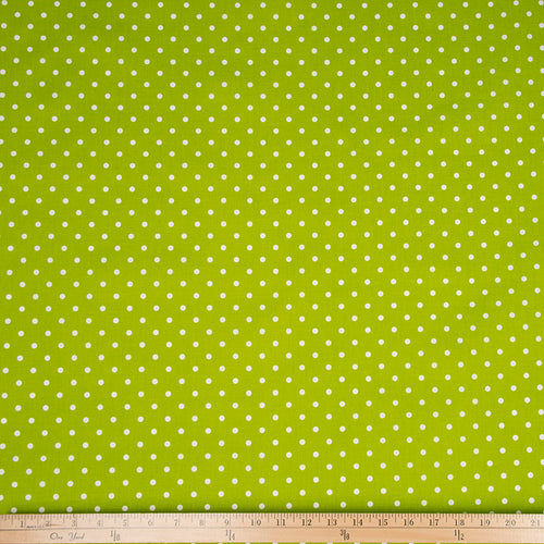 Blossom Green Dot Fabric - Shop Baby Slings & wraps, Baby Bedding & Home Decor !