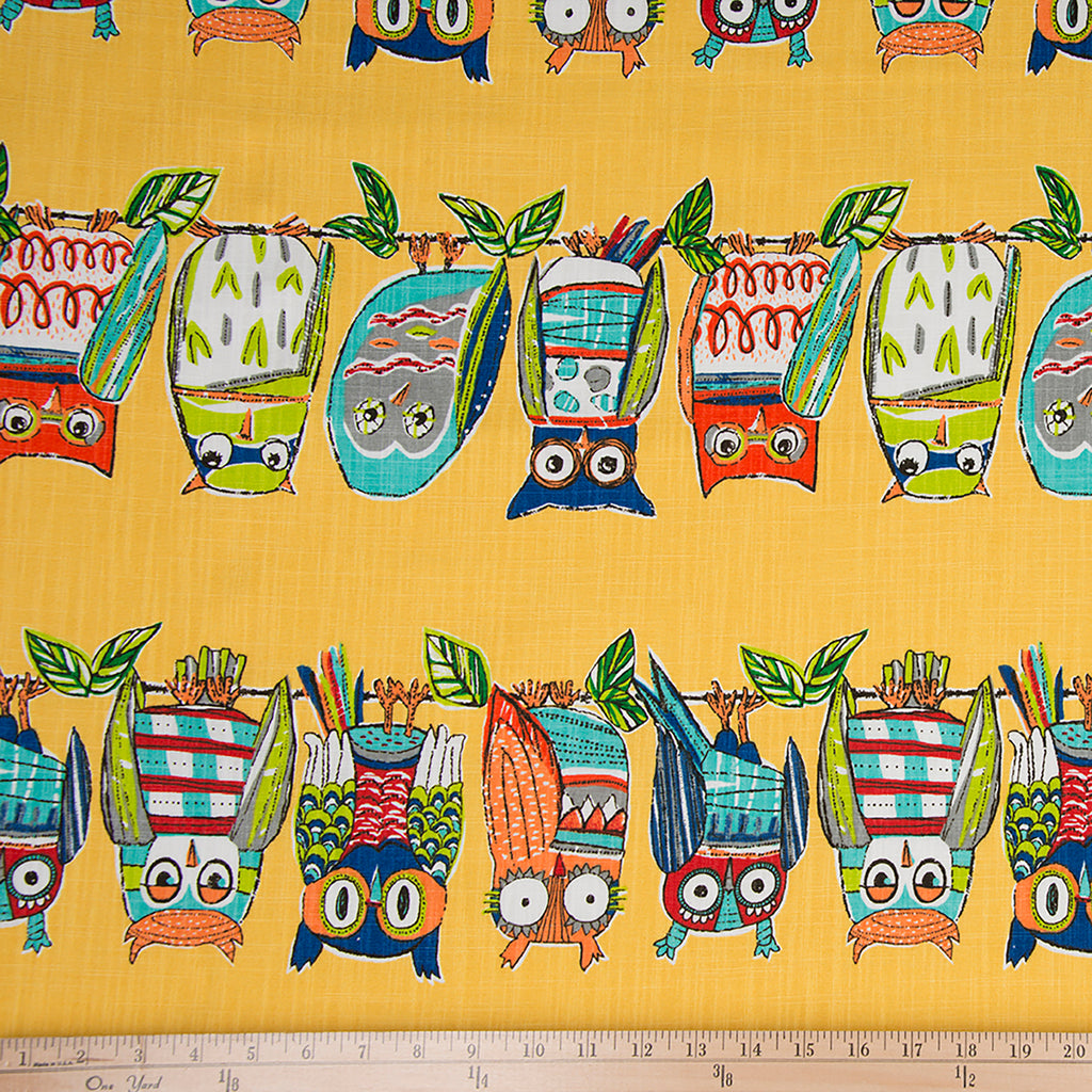 Lil Hoot Print Fabric - Shop Baby Slings & wraps, Baby Bedding & Home Decor !