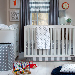DOTTIE & SPOT CRIB SKIRT
