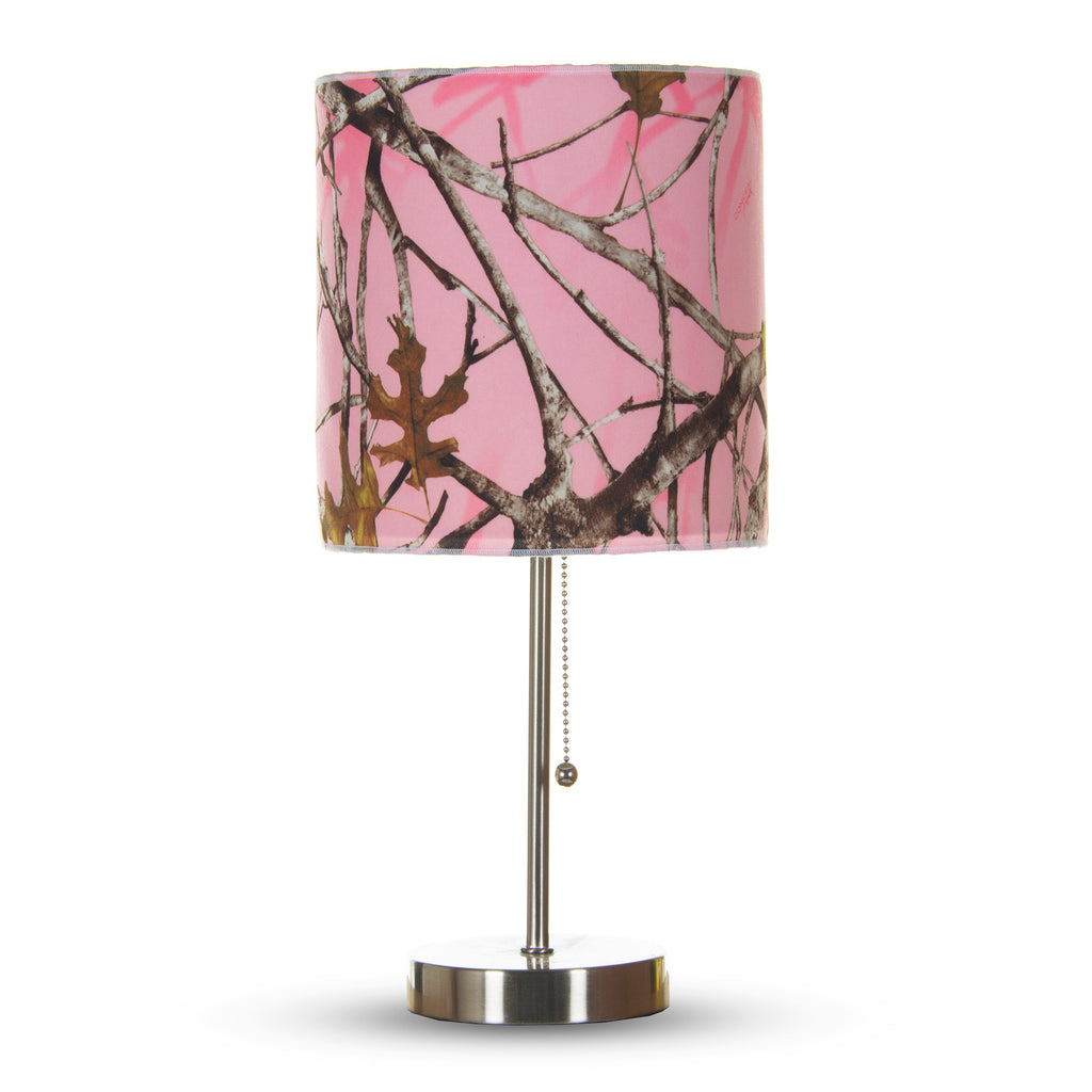 Camo Baby Pink Mod Lamp &  Shade  (60W) - Shop Baby Slings & wraps, Baby Bedding & Home Decor !