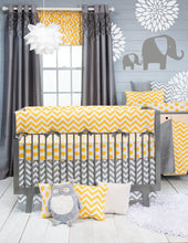 Load image into Gallery viewer, Swizzle Yellow Crib Rail Guard - Shop Baby Slings & wraps, Baby Bedding & Home Decor !