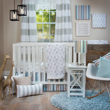 Load image into Gallery viewer, OLLIE & JACK 3PC SET (INCLUDES QUILT, SHEET, CRIB SKIRT) - Shop Baby Slings & wraps, Baby Bedding & Home Decor !