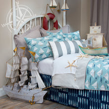 Load image into Gallery viewer, Little Sail Boat  Duvet - Shop Baby Slings & wraps, Baby Bedding & Home Decor !