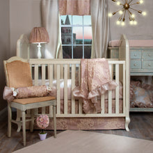 Load image into Gallery viewer, VIENNA BLUSH CRIB SKIRT