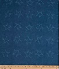 Carson Blue Star Fabric - Shop Baby Slings & wraps, Baby Bedding & Home Decor !