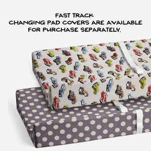 FAST TRACK CHANGING PAD COVER (DOT) - Shop Baby Slings & wraps, Baby Bedding & Home Decor !