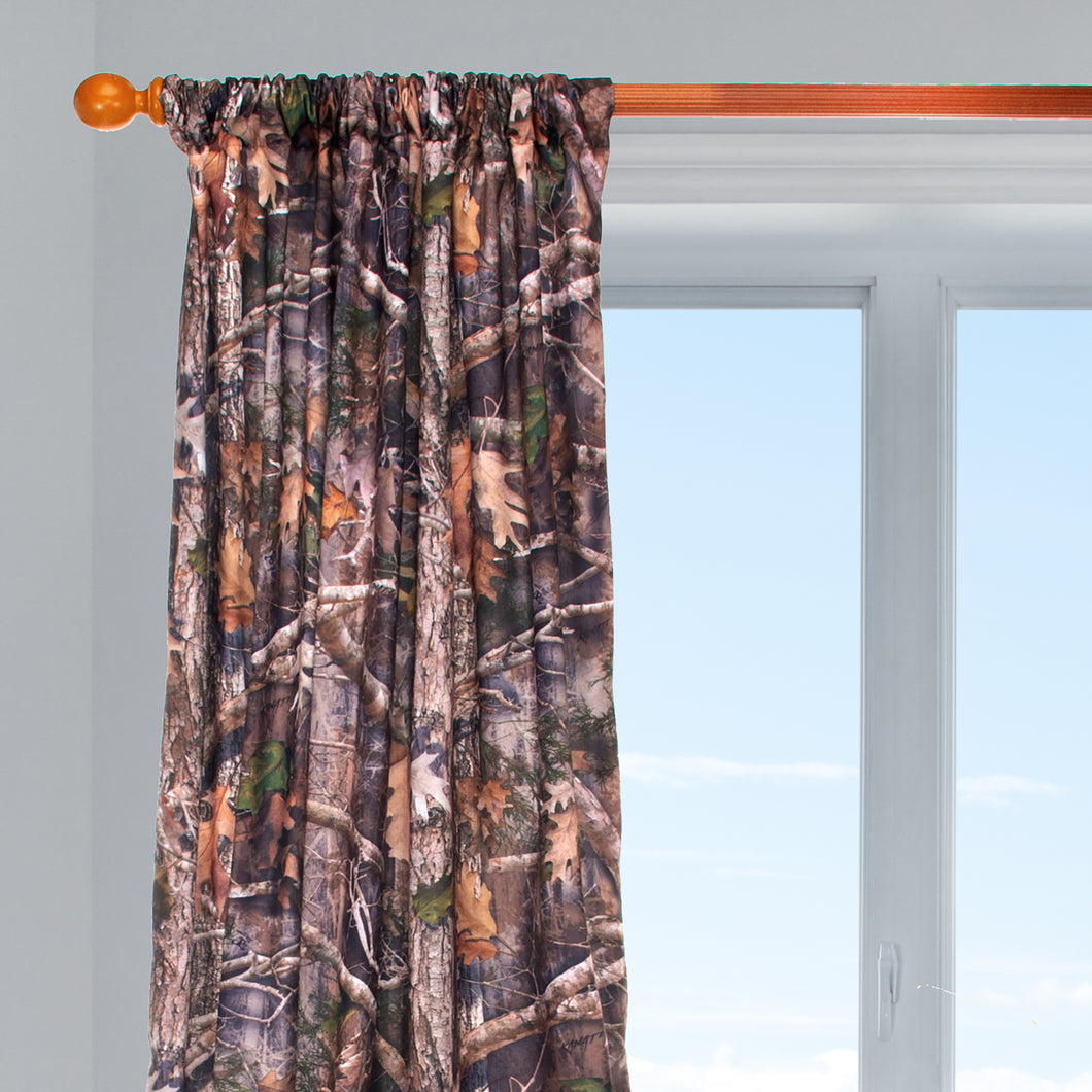 Camo Baby  Drapery Panel  (Approximately 90x40