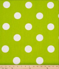Ellie & Stretch Green Dot Fabric - Shop Baby Slings & wraps, Baby Bedding & Home Decor !