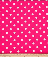 Ellie & Stretch Pink Dot Fabric - Shop Baby Slings & wraps, Baby Bedding & Home Decor !