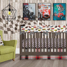 Load image into Gallery viewer, Fast Track Wall Decal Check - Shop Baby Slings & wraps, Baby Bedding & Home Decor !