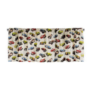 "Fast Track Window Valance   (92x18"") - Shop Baby Slings & wraps, Baby Bedding & Home Decor !"