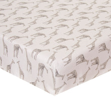 Load image into Gallery viewer, Ollie & Jack Fitted Sheet (Giraffe) - Shop Baby Slings & wraps, Baby Bedding & Home Decor !