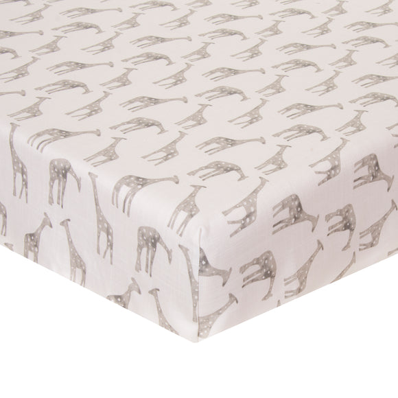 Ollie & Jack Fitted Sheet (Giraffe) - Shop Baby Slings & wraps, Baby Bedding & Home Decor !