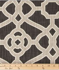 Grey Fretwork Fabric - Shop Baby Slings & wraps, Baby Bedding & Home Decor !