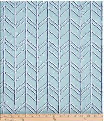 Happy Camper Blue Chevron Fabric - Shop Baby Slings & wraps, Baby Bedding & Home Decor !