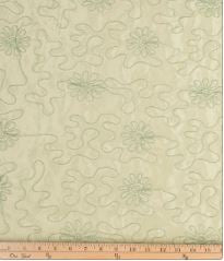 Meadow Green Swirly Fabric - Shop Baby Slings & wraps, Baby Bedding & Home Decor !