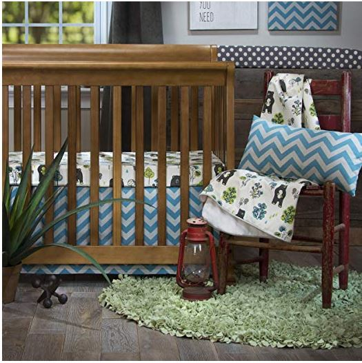 North Country Mini Crib 2pc Set (Includes Mini Fitted sheet and Mini Crib Skirt) - Shop Baby Slings & wraps, Baby Bedding & Home Decor !