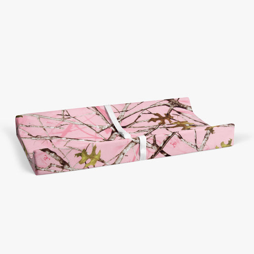 Camo Baby Pink Changing Pad Cover - Shop Baby Slings & wraps, Baby Bedding & Home Decor !