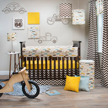 Load image into Gallery viewer, Traffic Jam Rail Protector - Shop Baby Slings & wraps, Baby Bedding & Home Decor !