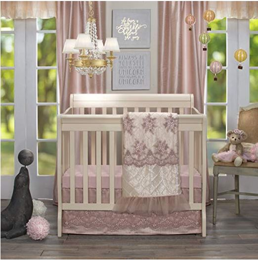 Remember My Love Mini Crib Bedding Set - Shop Baby Slings & wraps, Baby Bedding & Home Decor !