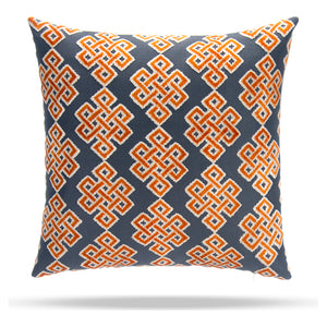 "Infinity Square Citrus Pillow 18"" - Shop Baby Slings & wraps, Baby Bedding & Home Decor !"