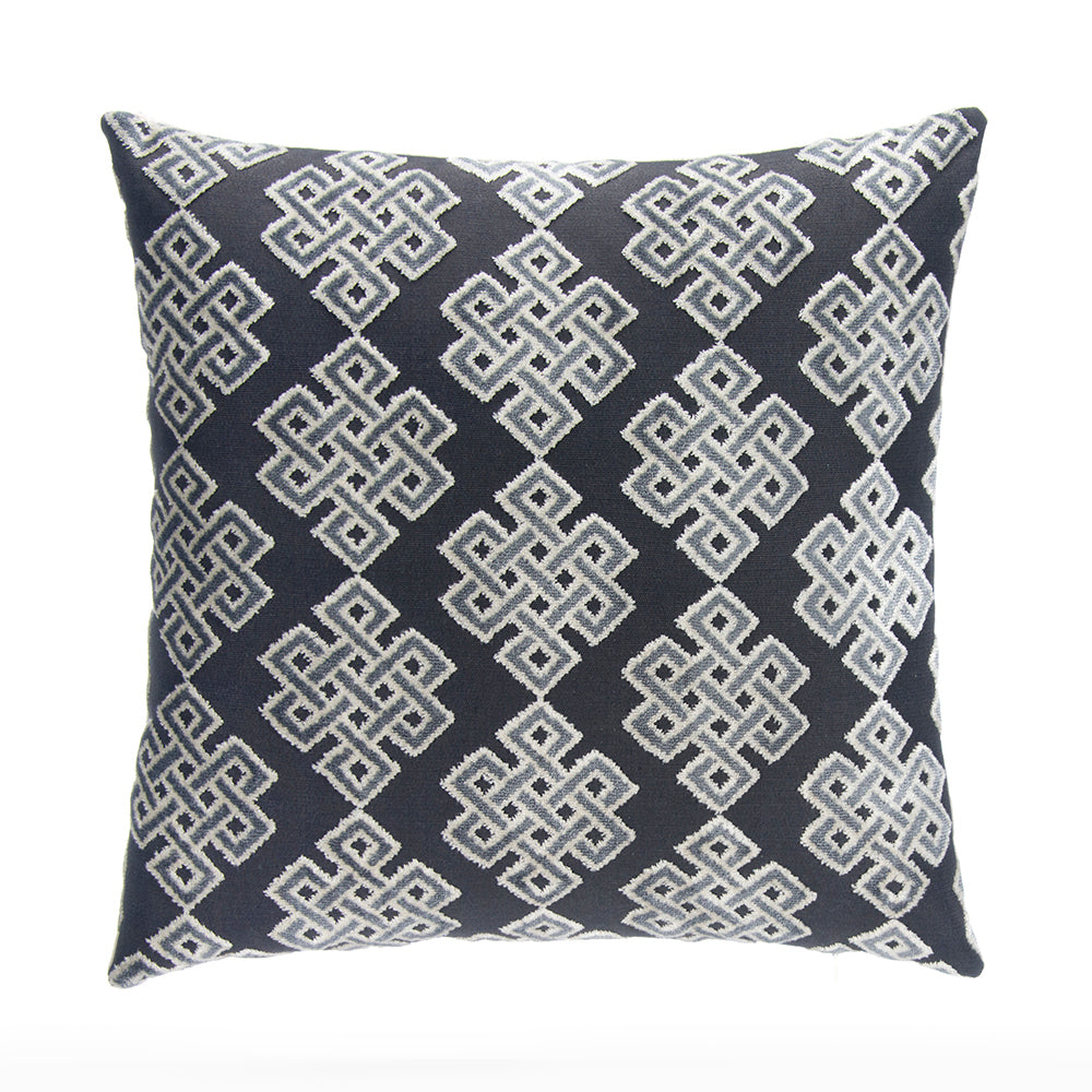 "Infinity Square Steel Pillow 18"" - Shop Baby Slings & wraps, Baby Bedding & Home Decor !"