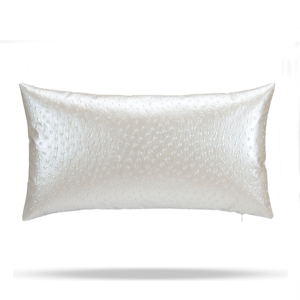 Oscar Pearl Faux Osterich Lumbar - Shop Baby Slings & wraps, Baby Bedding & Home Decor !