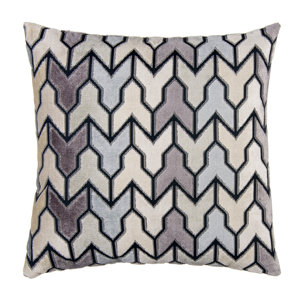 "Metro Steel Pillow 18"" - Shop Baby Slings & wraps, Baby Bedding & Home Decor !"