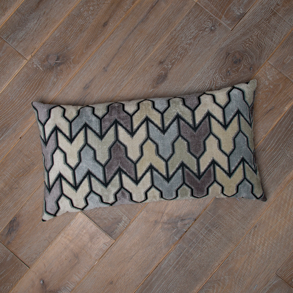 "Metro Steel Lumbar Pillow 11""x22"" - Shop Baby Slings & wraps, Baby Bedding & Home Decor !"