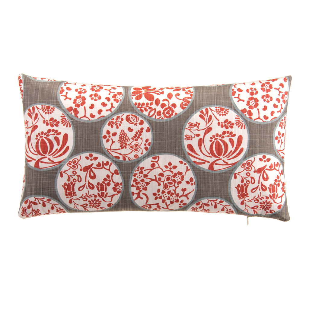 "Dara Lumbar Pillow 12""x22"" - Shop Baby Slings & wraps, Baby Bedding & Home Decor !"