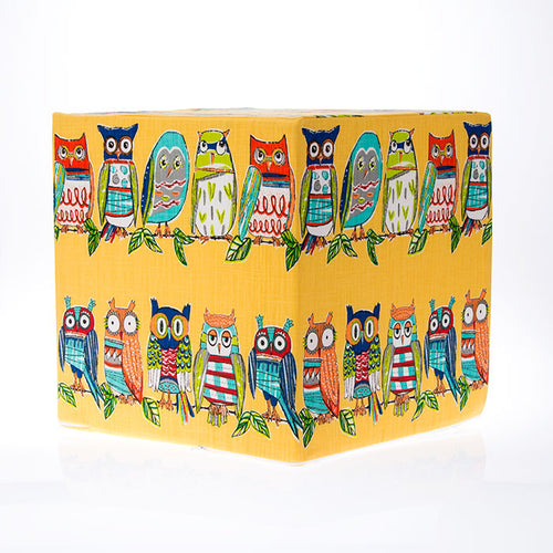 Hoot Yellow, Pouf - Shop Baby Slings & wraps, Baby Bedding & Home Decor !