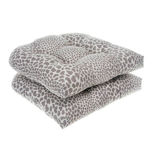 "Don't Be Catty - Grey Wicker Chair Cushion Pack of 2 19""x19""x5"" - Shop Baby Slings & wraps, Baby Bedding & Home Decor !"