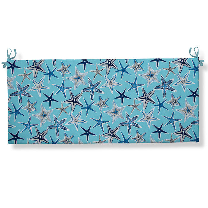Starstruck - Blue Bench/Porch Swing Cushion 45