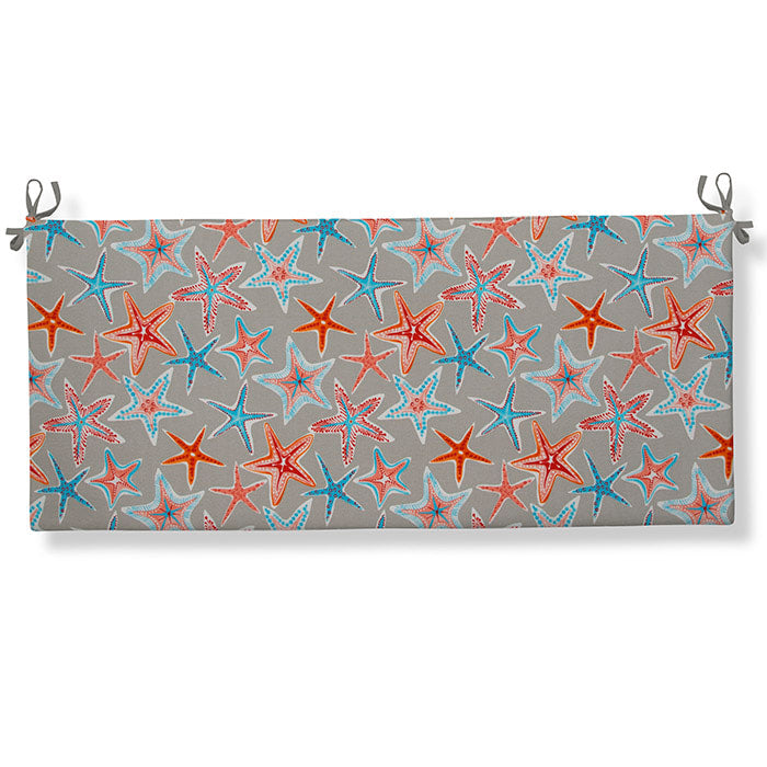 "Starstruck - Orange Bench/Porch Swing Cushion 45""x18""x3"" - Shop Baby Slings & wraps, Baby Bedding & Home Decor !"