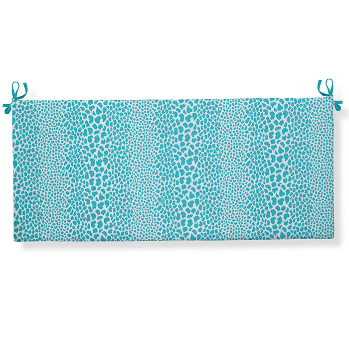 "Don't Be Catty - Aqua Bench/Porch Swing Cushion 45""x18""x3"" - Shop Baby Slings & wraps, Baby Bedding & Home Decor !"