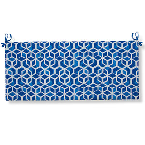 "Cubed - Blue Bench/Porch Swing Cushion 45""x18""x3"" - Shop Baby Slings & wraps, Baby Bedding & Home Decor !"