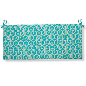 "Cubed - Teal Bench/Porch Swing Cushion 45""x18""x3"" - Shop Baby Slings & wraps, Baby Bedding & Home Decor !"