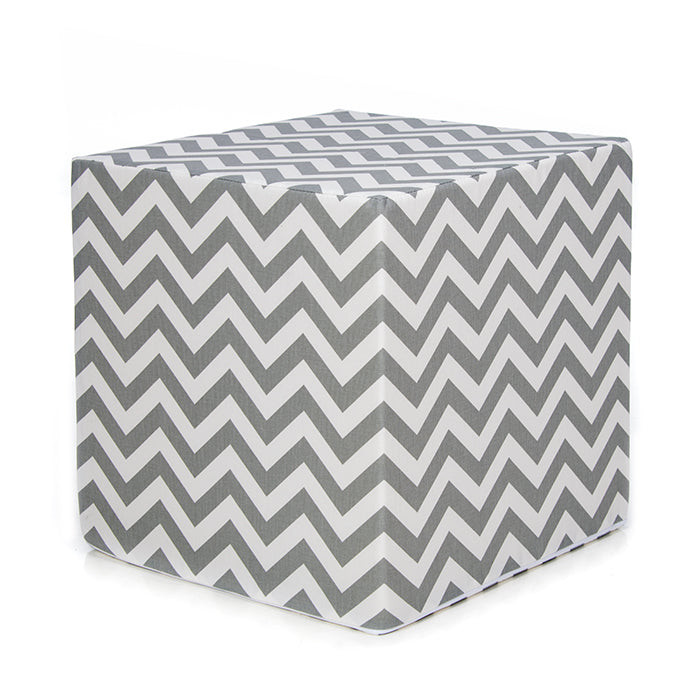 Chevron Grey, Pouf - Shop Baby Slings & wraps, Baby Bedding & Home Decor !