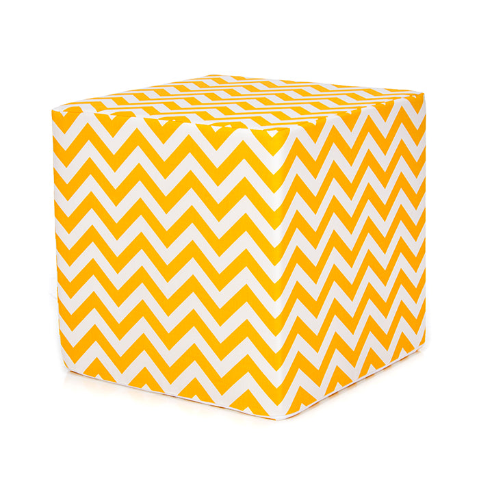 Chevron Yellow, Pouf - Shop Baby Slings & wraps, Baby Bedding & Home Decor !