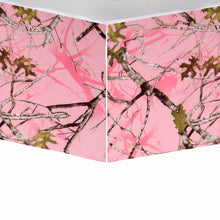 Load image into Gallery viewer, Camo Baby Pink Crib Skirt - Shop Baby Slings & wraps, Baby Bedding & Home Decor !