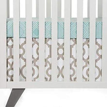 Load image into Gallery viewer, Soho Mini Crib Skirt - Shop Baby Slings & wraps, Baby Bedding & Home Decor !