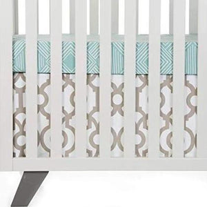 Soho Mini Crib Skirt - Shop Baby Slings & wraps, Baby Bedding & Home Decor !