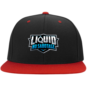 STC19 Flat Bill High-Profile Snapback Hat - Liquid Hydration Gear