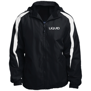 JST81 Fleece Lined Colorblocked Hooded Jacket - Liquid Hydration Gear