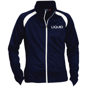 LST90 Ladies' Raglan Sleeve Warmup Jacket - Liquid Hydration Gear