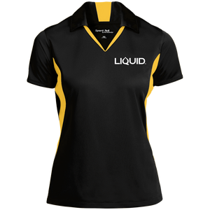 LST655 Ladies' Colorblock Performance Polo - Liquid Hydration Gear