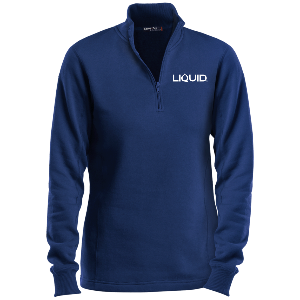 LST253 Ladies' 1/4 Zip Sweatshirt - Liquid Hydration Gear