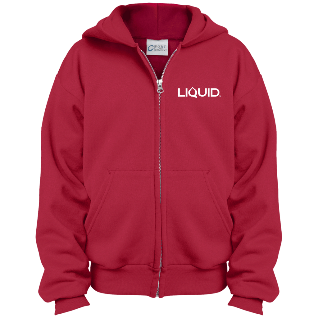 PC90YZH Youth Full Zip Hoodie - Liquid Hydration Gear