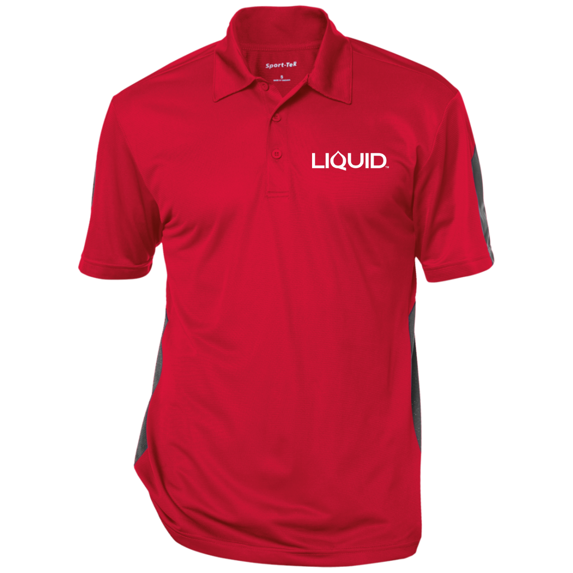 ST695 Performance Textured Three-Button Polo - Liquid Hydration Gear