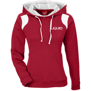 TT30W Ladies' Colorblock Poly Hoodie - Liquid Hydration Gear